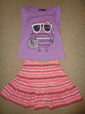 Top and matching skirt 1,5 to 2 years