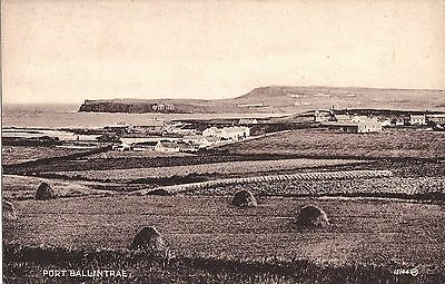 a northern ireland postcard ulster irish co. antrim port ballintrae