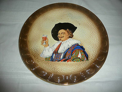 Unusual Large Vintage Sylvac Cavalier Decorative Plate Vgc