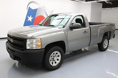 2009 Chevrolet Silverado 1500 WT Standard Cab Pickup 2-Door 2009 CHEVY SILVERADO 1500 REGULAR CAB 4X4 LONGBED 24K #212748 Texas Direct Auto