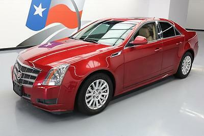 2011 Cadillac CTS Luxury Sedan 4-Door 2011 CADILLAC CTS 3.0L LUXURY AWD LEATHER PANO ROOF 55K #165477 Texas Direct