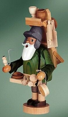 KWO Wood Vendor German Christmas Incense Smoker Handcrafted in Germany New