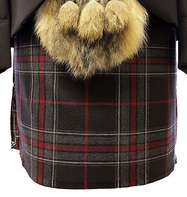 Made 2 Measure Spirit O Bruce Modern 8 Yard Wool Kilt Only Made In Scotland Sale