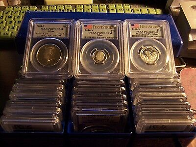 ( Lot Of 3) Silver Coins Certified By  Pcgs & Or Ngc Randomly Pulled-Very Clean