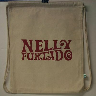 NELLY FURTADO RARE PROMO BACKPACK 14x17.5 ECO ONE NEW