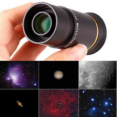 """1.25"""" 6mm+9mm UWA Eyepiece Set Fully Multi-Coated for Astronomical Telescope Hot"""