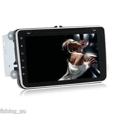Quad Core 8'' Android 5.1 Car NO DVD Player for VW POLO GLOF JETTA with GPS WIFI