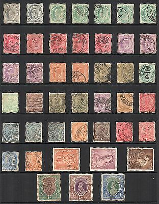 INDIA STAMP Accumulation earlyer issues Used REF:QD528