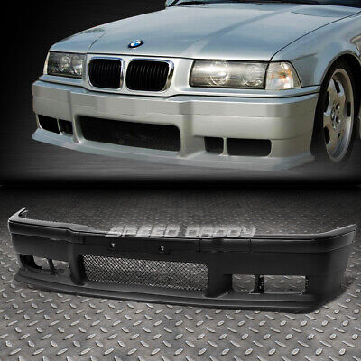 For 92-98 Bmw E36 3Series 1Pc M3 Style Replacement Front Bumper Body Kit+Grille
