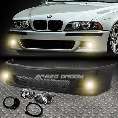 For 96-03 Bmw E39 5Series M5 Style Replacement Front Bumper Body Kit+Fog Light