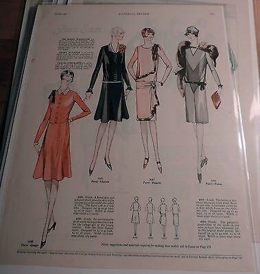Vintage Fashion Ad's - Ladies Home Journal 1920's