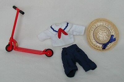 """Madeline 8"""" Doll Scooter Outfit Clothing Set"""