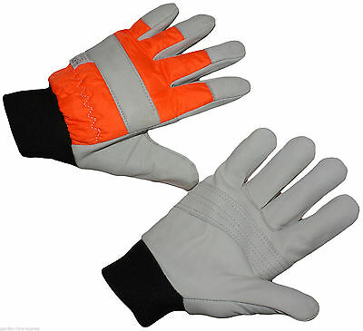 Chainsaw Protective Gloves L Large Size 10 Professional Quality