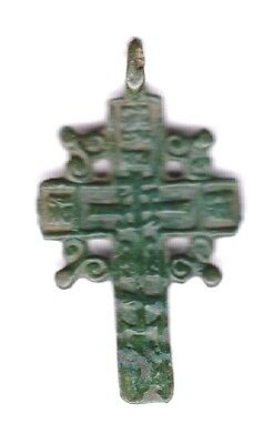 Beautiful Ancient Large Russian Cross. VF Condition!