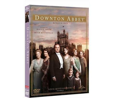 Film DVD UNIVERSAL PICTURES - Downton Abbey - Stagione 06 (4 Dvd)   DVD 0