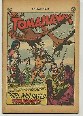 Tomahawk 11 Early Issue Coverless Golden Age