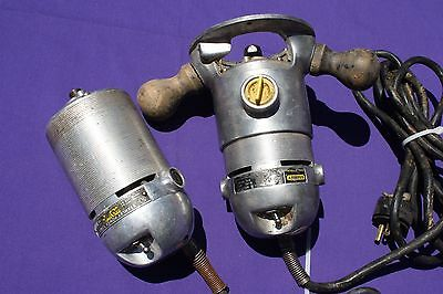 "Vintage Stanley 1/4"" Router H-39-B with extra motor H39B"
