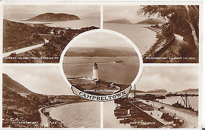Campeltown Fine Old 5 View Postcard