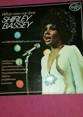 What now my love Shirley Bassey lp record