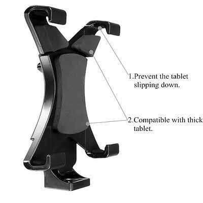Universal 7'' - 10'' tablet tripod mount adapter clamp holder for iPad 2 3 4 air