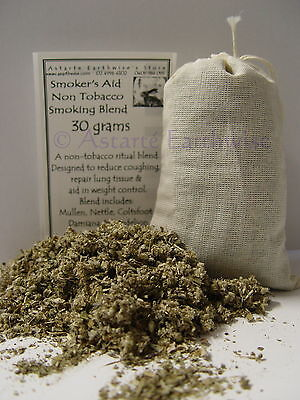 HERB: SMOKER'S AID 30 grams SMOKEABLE Wicca Witch Pagan Goth Punk Spell Altar