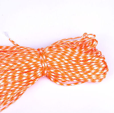 New 100FT 550 Paracord 7 Strands Parachute Cord Rope Lanyard Mil Spec Type #076