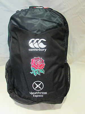 Canterbury England Rugby 7S Mercury Tcr Backpack / Bag Rrp £35