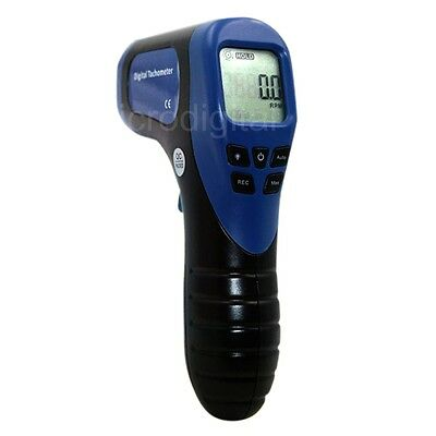 Digital LCD Laser Photo Tachometer RPM Tachometer Measuring Non-Contact Device