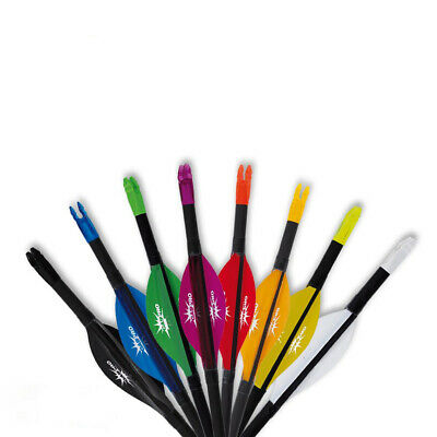 GAS PRO Recurve Efficient Spin Vanes - 2 Zoll - Soft Parabolic - 50er Pack