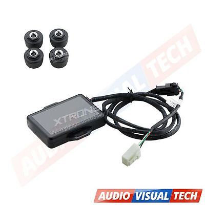 XTRONS Car Auto TPMS Tire Tyre Pressure Monitoring System 4 External Sensors UK