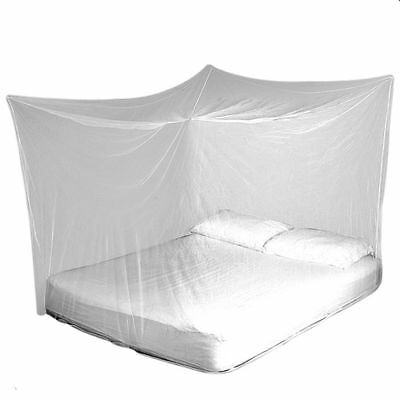 TravelMAX Mosquito Net Double Queen King Size Box Insect Netting LLIN Treated