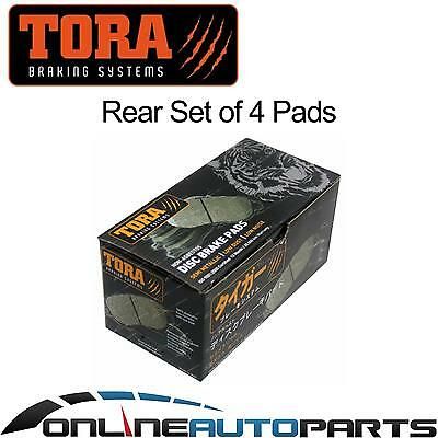 Rear Disc Brake Pads Set for Kia Cerato LD FWD 4cyl 2.0L 2004 to 2007