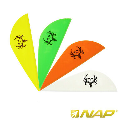 NAP Twister Vanes - Bone Collector - 2 Zoll - versch. Farben - 36er Pack