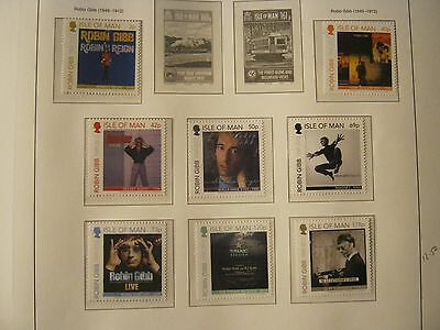 Iom Unmounted Mint 2013 Robin Gibb Face £6