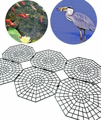 New Pack Of 30 Fish Pond Net Protection Cover Guards Garden Uk Seller
