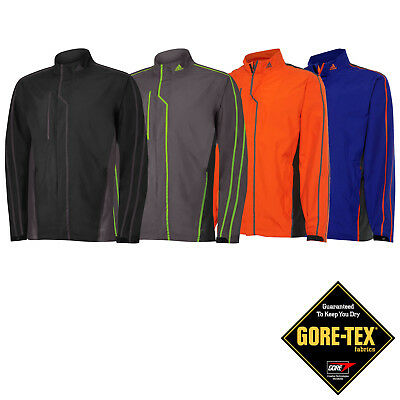 Adidas Mens Gore-Tex Waterproof Golf Jacket - Full Zip Rain Top New Coat Suit