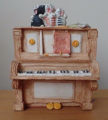 Peter Fagan Cats Collectables - PIANO POPS  - 1986 - EXCELLENT