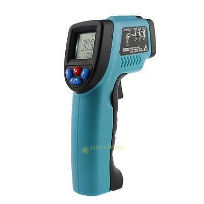 Non-Contact IR Infrared Digital Temperature Temp Thermometer Laser Point Gun NEW