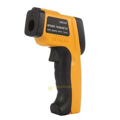 Non-Contact LCD IR Laser Infrared Digital Temperature Thermometer Gun Backlight