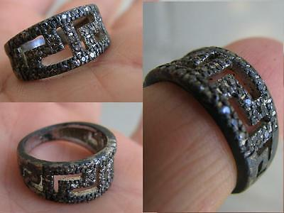 VERY NICE VINTAGE SILVER  RING  with  STONE #5089