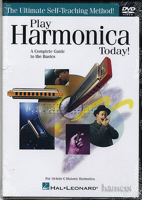 Play Harmonica Today Learn How to Tuition  Method DVD