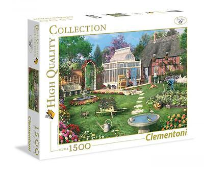 Clementoni 31671 The Conservatory 1500 Pieces High Quality Jigsaw Puzzle - Multi