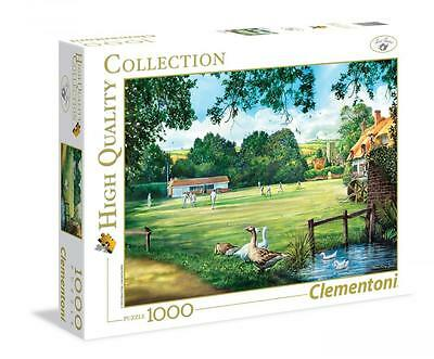 Clementoni 39317 A Day of Cricket 1000pcs High Quality Collection Jigsaw Puzzle