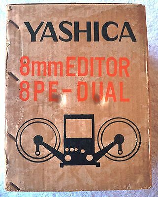 Yashica 8mm Editor 8PE-DUAL - 8mm Film Editor for Regular and Super 8 Film