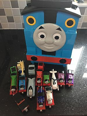 Thomas Take And Play Carry Case And Trains Bundle