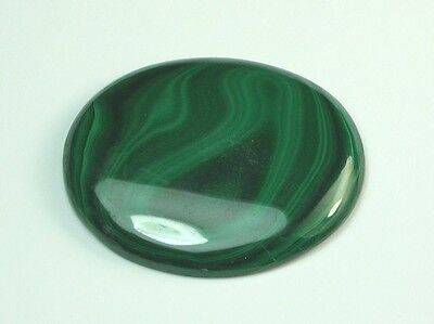 Feiner Malachit Top Farbe Oval Cabochon 49,30 Ct Opaque