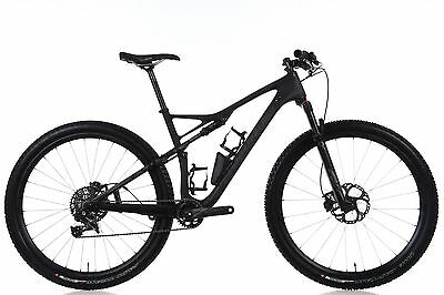 """2016 Specialized Epic World Cup Expert LARGE 18.5"""" Carbon SRAM X01 Roval SID"""