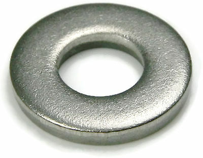 Stainless Steel Flat Washer Extra Thick, 1/4 ID x 5/8 OD x .125 THK, Qty 25
