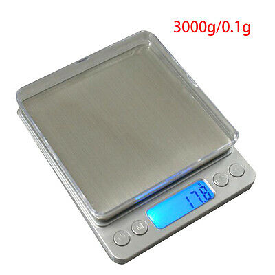 2016 Electronic Digital Kitchen Food Balance Weight LCD Display Scales 1kg-3kg