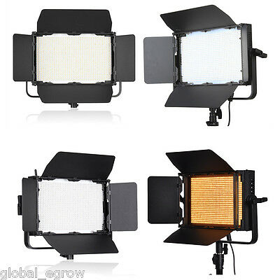1040 LEDs 64W 7680LM Dimmable Photography Video Studio Lighting Light Lamp Panel